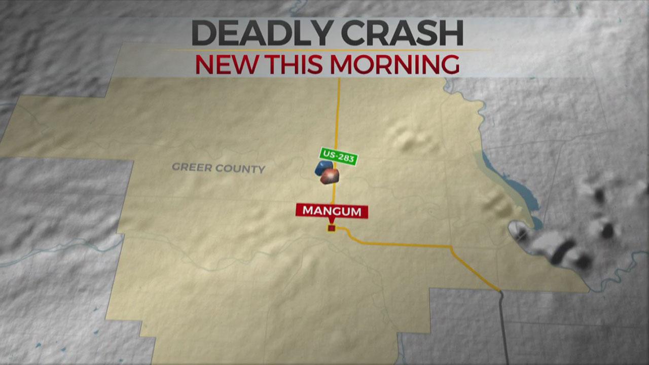 84-Year-Old Died In Greer Co. Crash