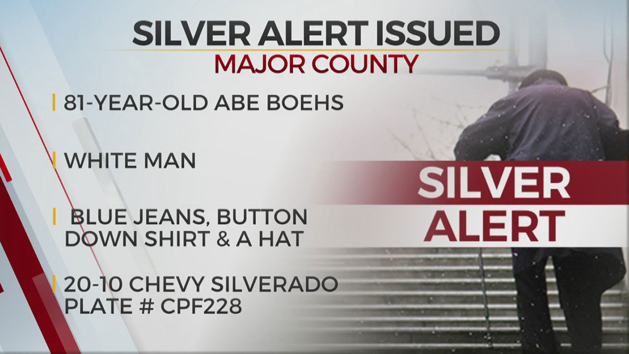 Major County Police Issue Silver Alert For 81-Year-Old Man
