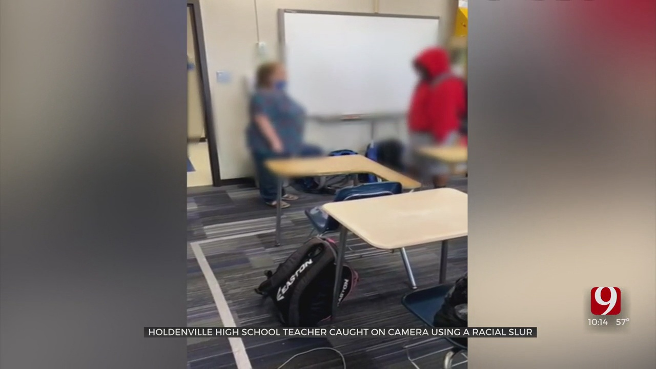 Caught On Camera: Holdenville Teacher Calls Student Racial Slur During Class