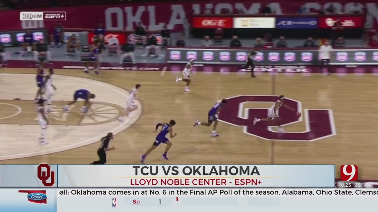 Oklahoma Torches TCU In 36-Point Victory