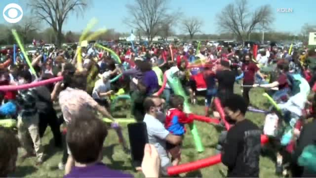 WATCH: Hundreds Of Joshes Meet For An Epic Name Battle