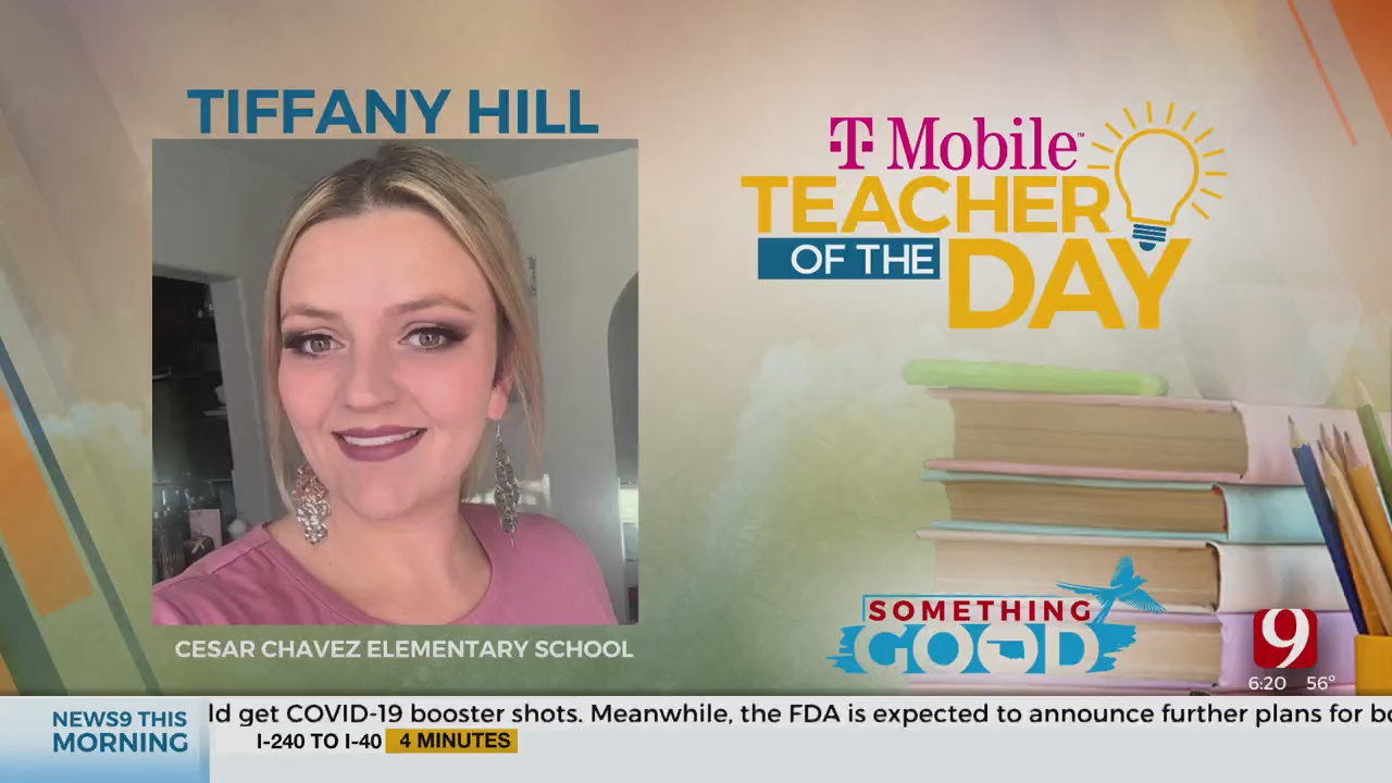 Teacher Of The Day: Tiffany Hill