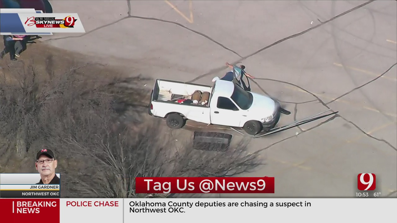 Law Officers Detain Driver After Chase In NW OKC
