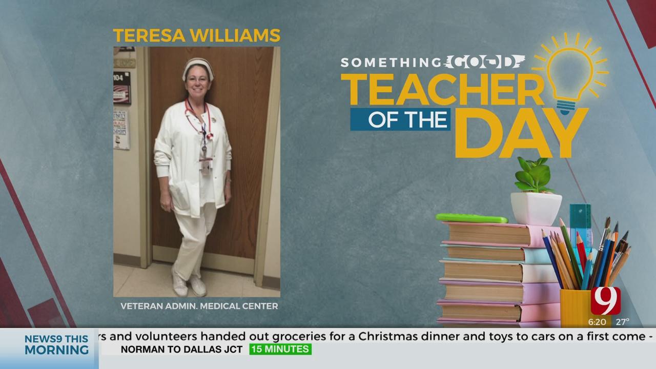 Teacher Of The Day: Teresa Williams