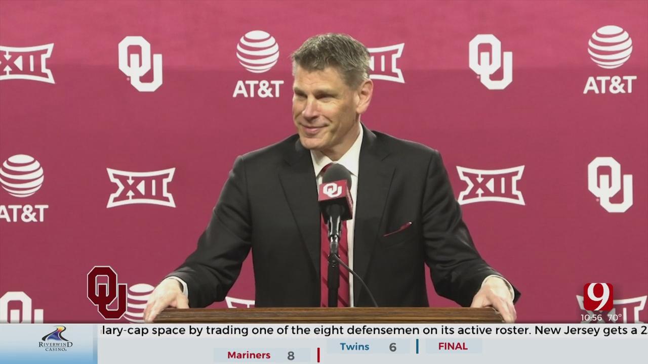 Porter Moser Introduced As OU's Men's Basketball Coach