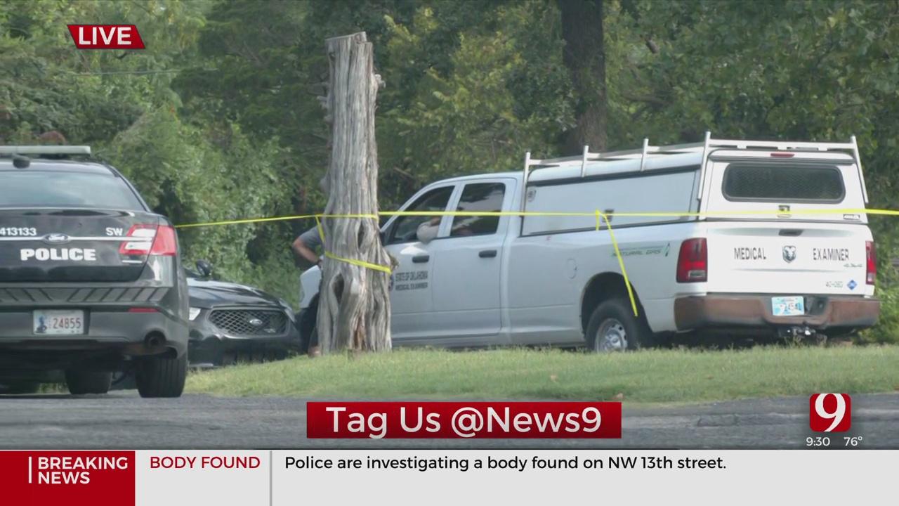 Body Found In NW OKC, Police Say