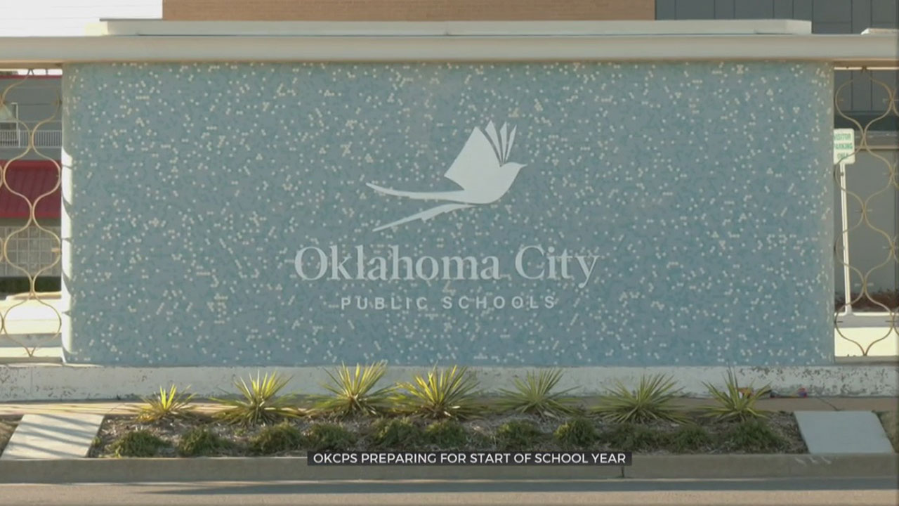 OKCPS Prepares For Safe Return To School On Monday