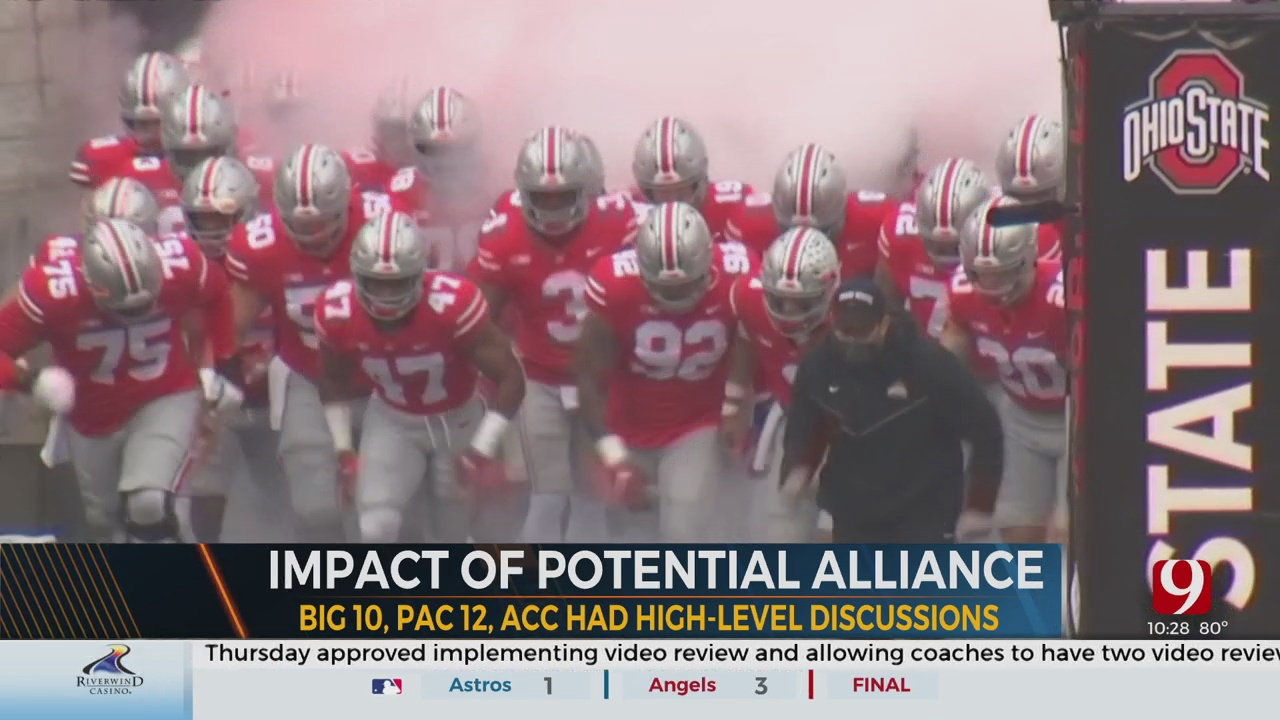 """What Does The """"Alliance"""" Talk In CFB Mean For OSU and Big 12?"""