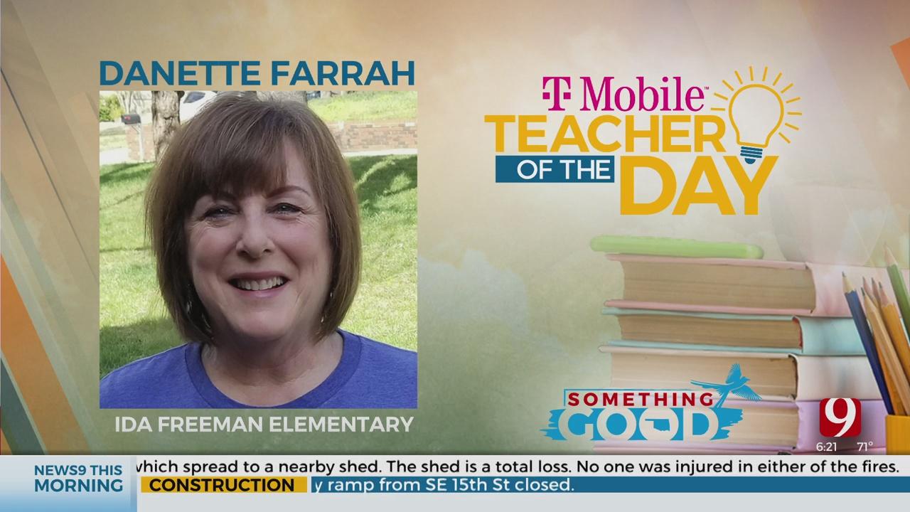 Teacher Of The Day: Danette Farrah