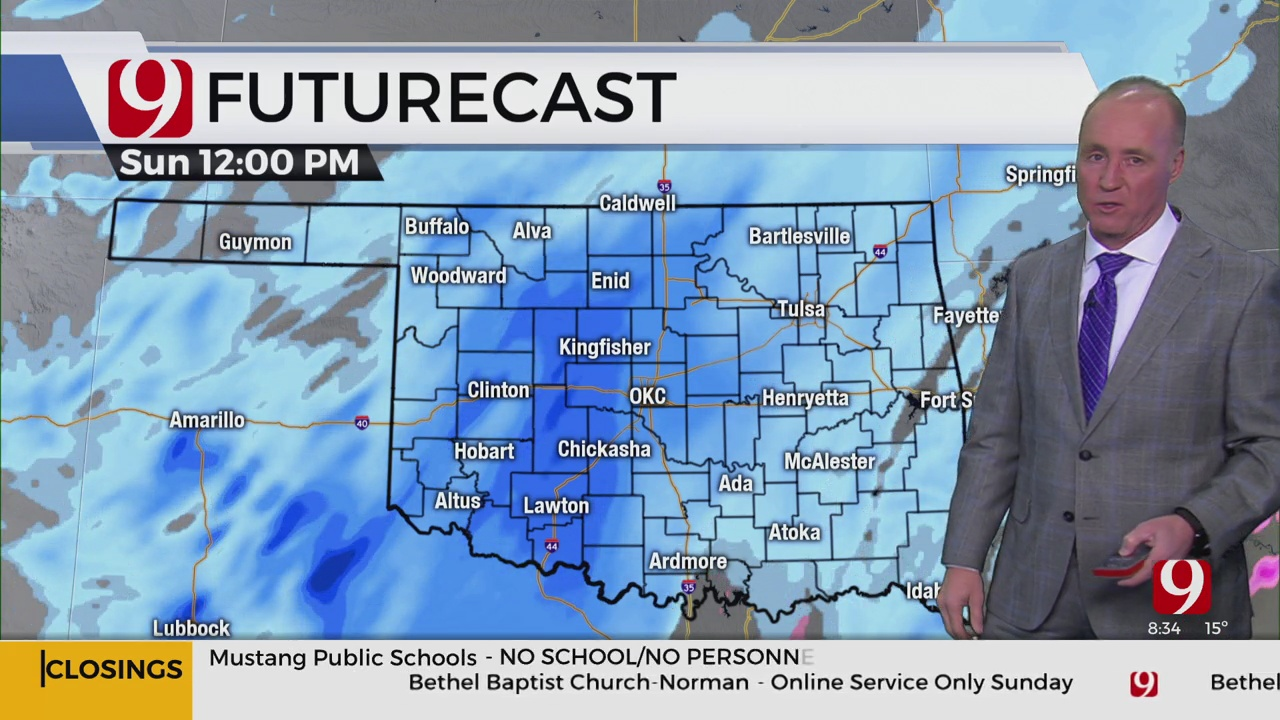 WATCH: News 9 Chief Meteorologist David Payne's Winter Weather Update (8:31 p.m.)