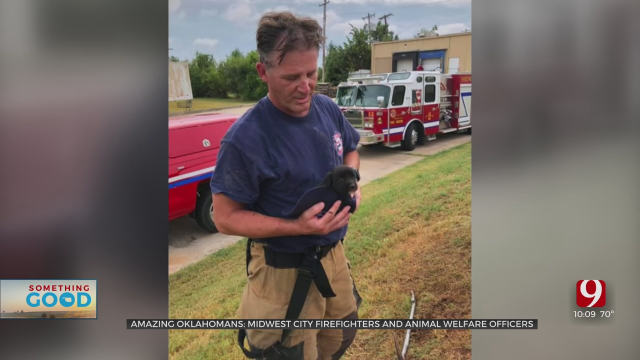 Amazing Oklahomans: MWC Firefighters & Animal Welfare Officers