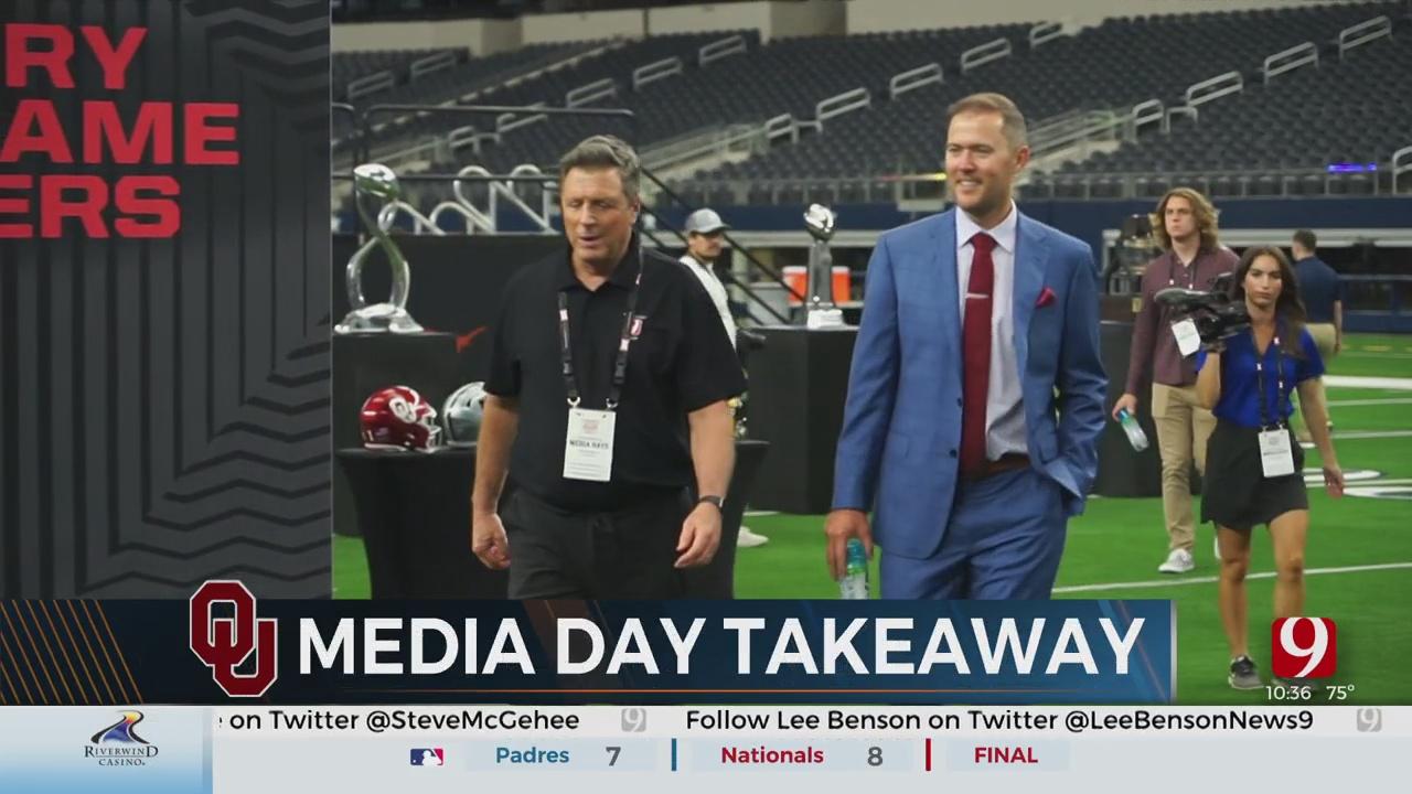Sooner Big 12 Media Day Roundup