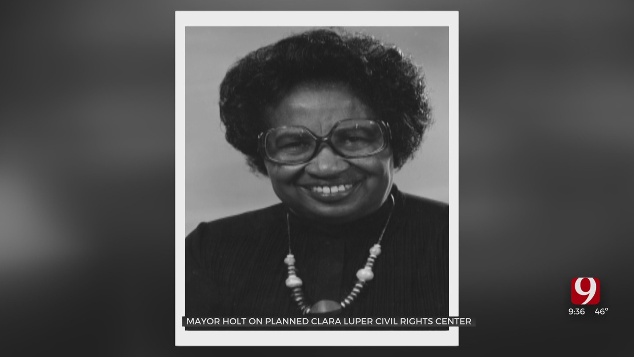 WATCH: Mayor Holt On Planned Clara Luper Civil Rights Center Coming To OKC