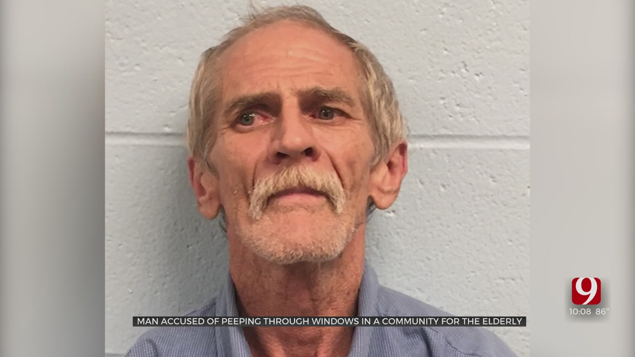Unregistered Sex Offender Accused Of Looking Through Windows At Apartment Complex For Seniors
