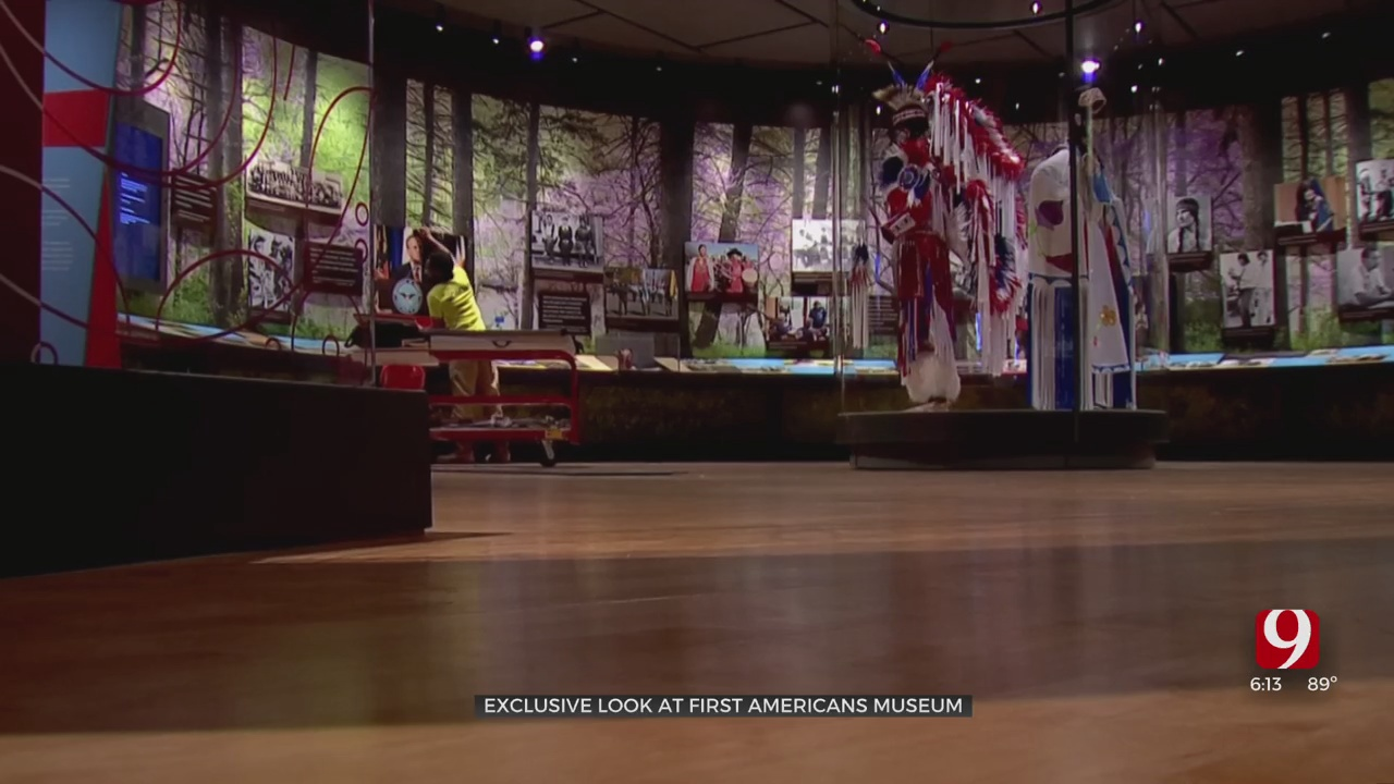 First Americans Museum In SE OKC Gives News 9 An Exclusive Tour Ahead Of Its Opening Weekend