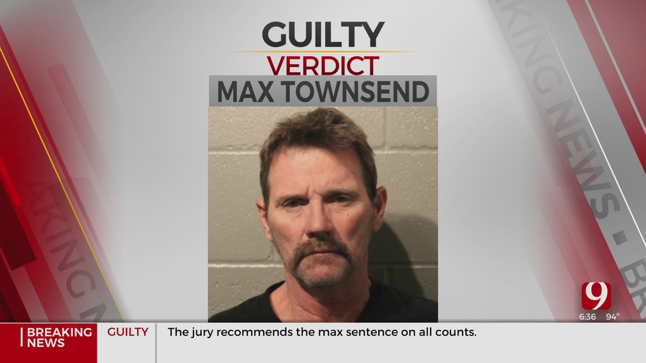 Max Townsend Found Guilty Of All 10 Counts In Connection With Deadly Moore Crash