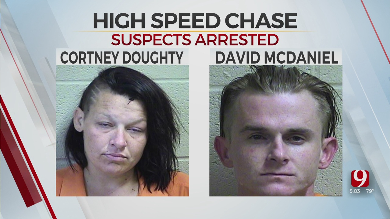 OHP Identifies Chase Suspects In Multi-County High-Speed Pursuit