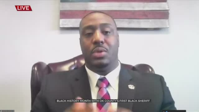 WATCH: Oklahoma County Sheriff Tommie Johnson III Talks First 2 Months