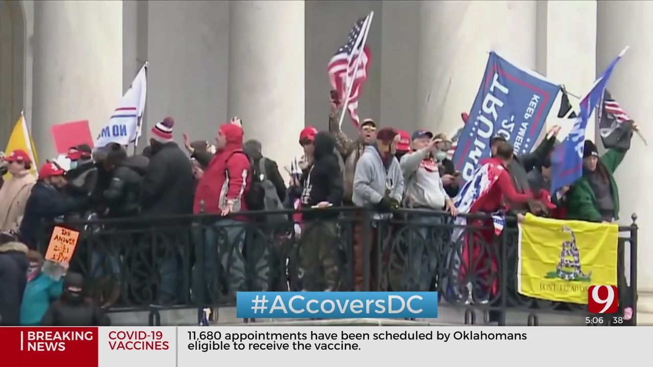 Historical Events Upend First Week Of 2021 In US Capitol