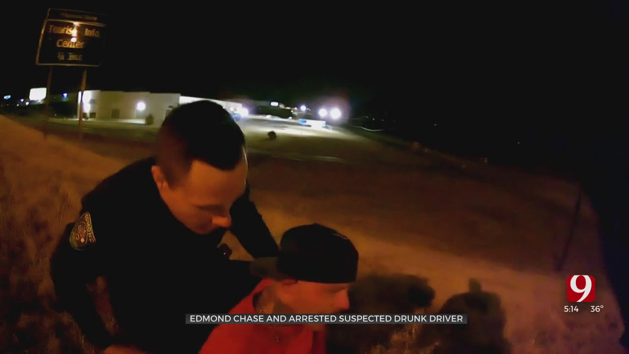 Chase And Arrest Of Suspected Drunk Driver Caught On Camera