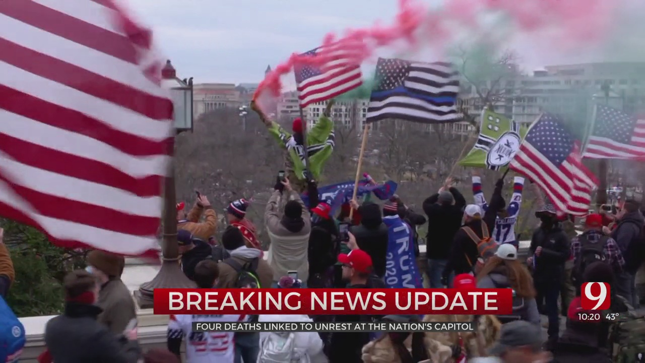 DC Police: 4 Dead After Trump Supporters Occupy Capitol