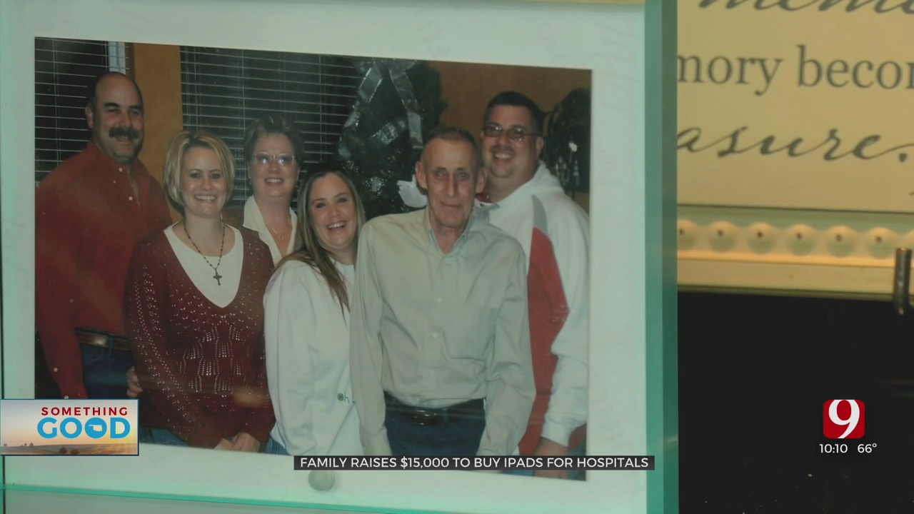 Amazing Oklahoman: Foughty Family Raises Thousands To Buy iPads For Local Hospitals