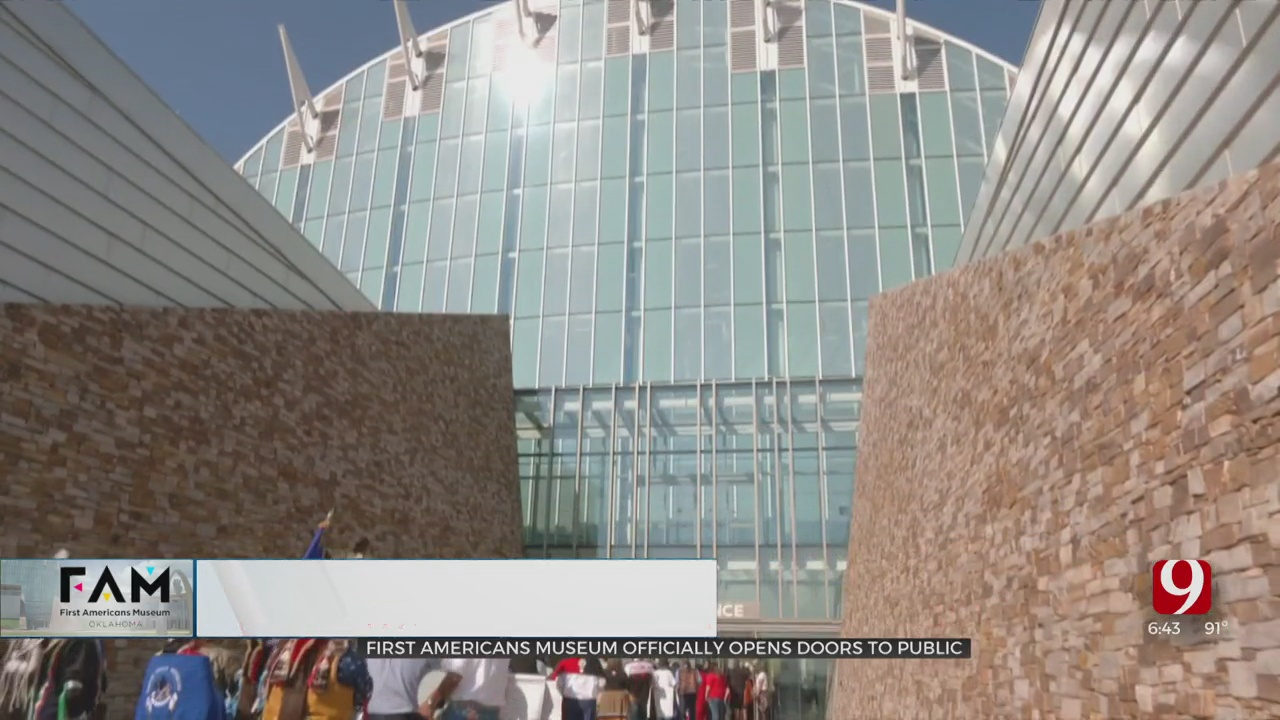 First Americans Museum Officially Opens To Public