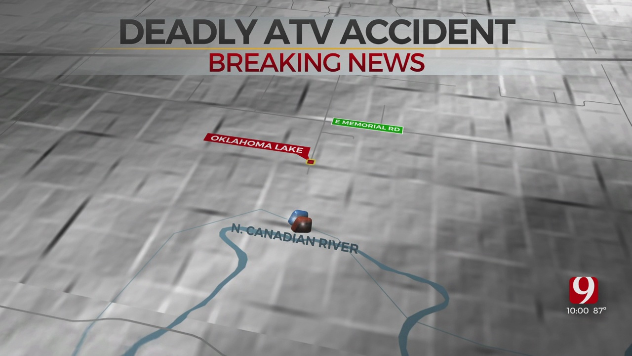 OCPD Confirms Male Driver Dies Near North Canadian River