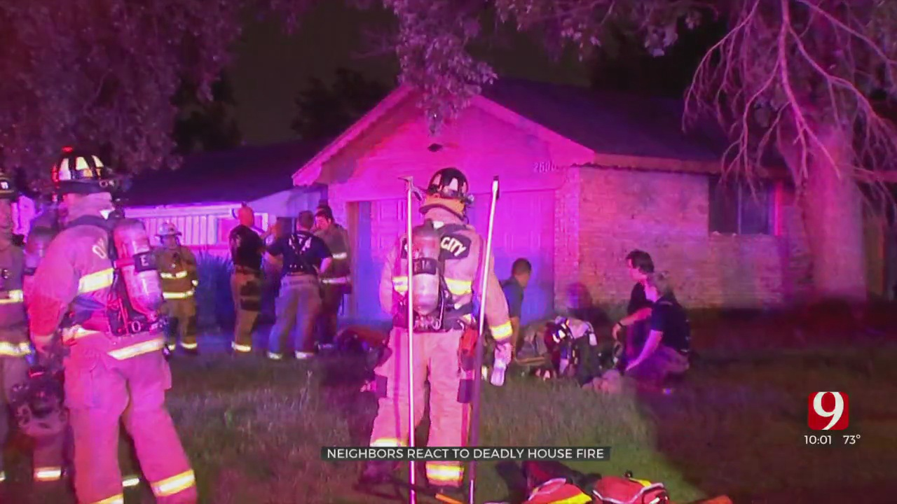 1 Person Dead Following NW OKC House Fire