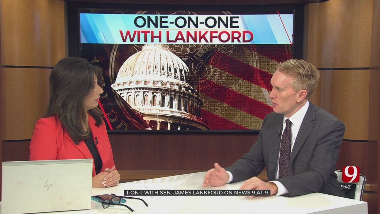 One-On-One: Sen. Lankford On COVID And The Border