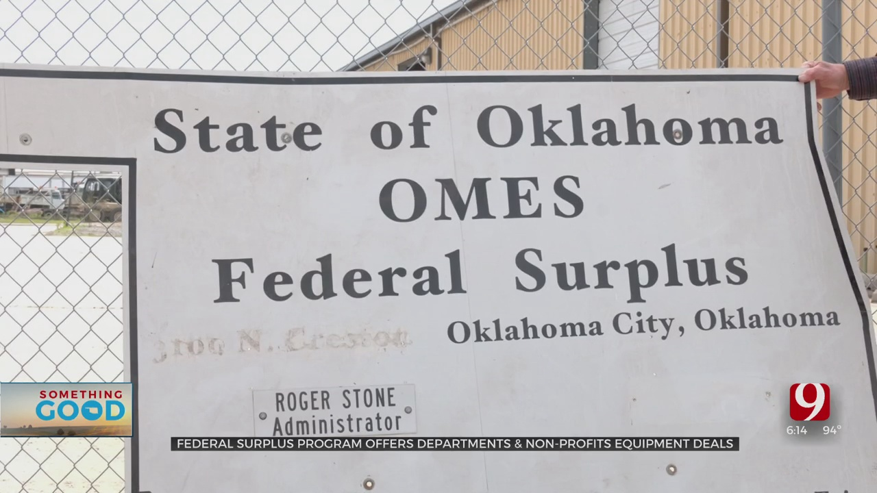 Federal Surplus Looking To Help More Nonprofits In Oklahoma
