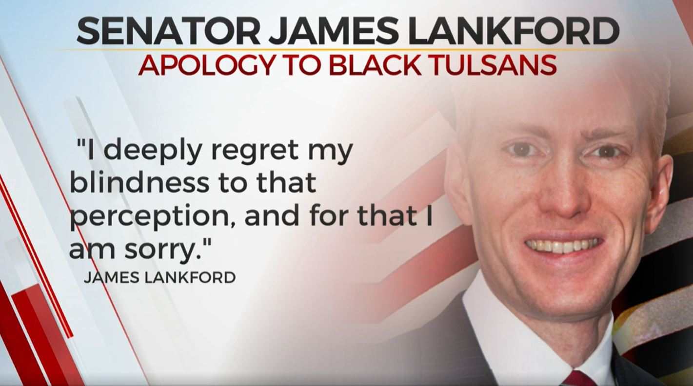 Sen. Lankford Apologizes To Black Tulsans Over Questioning Presidential Election Results