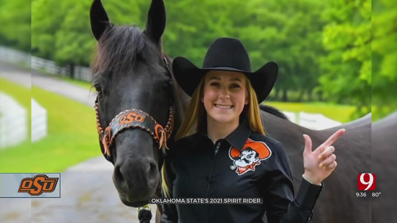 Newest Spirit Rider Set To Take Saddle For OSU Home Football Games