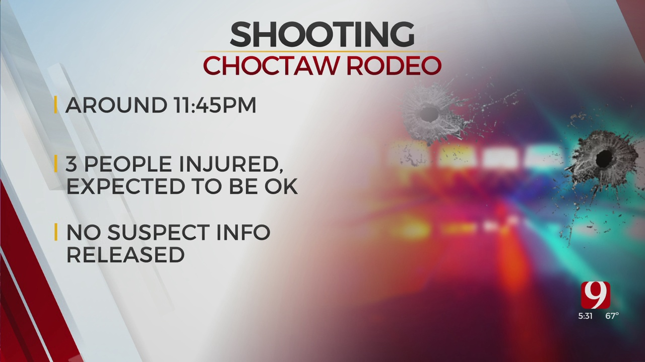 Multiple People Injured Following Choctaw Rodeo Shooting
