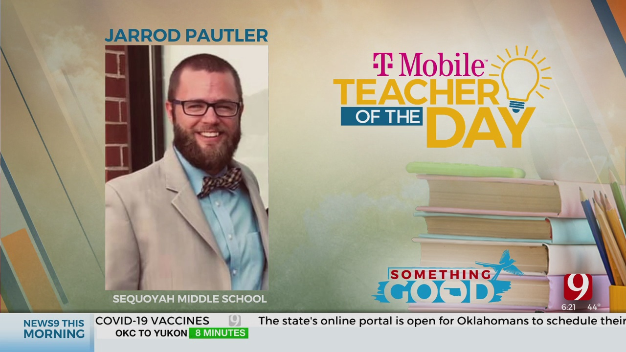 Teacher Of The Day: Jarrod Pautler