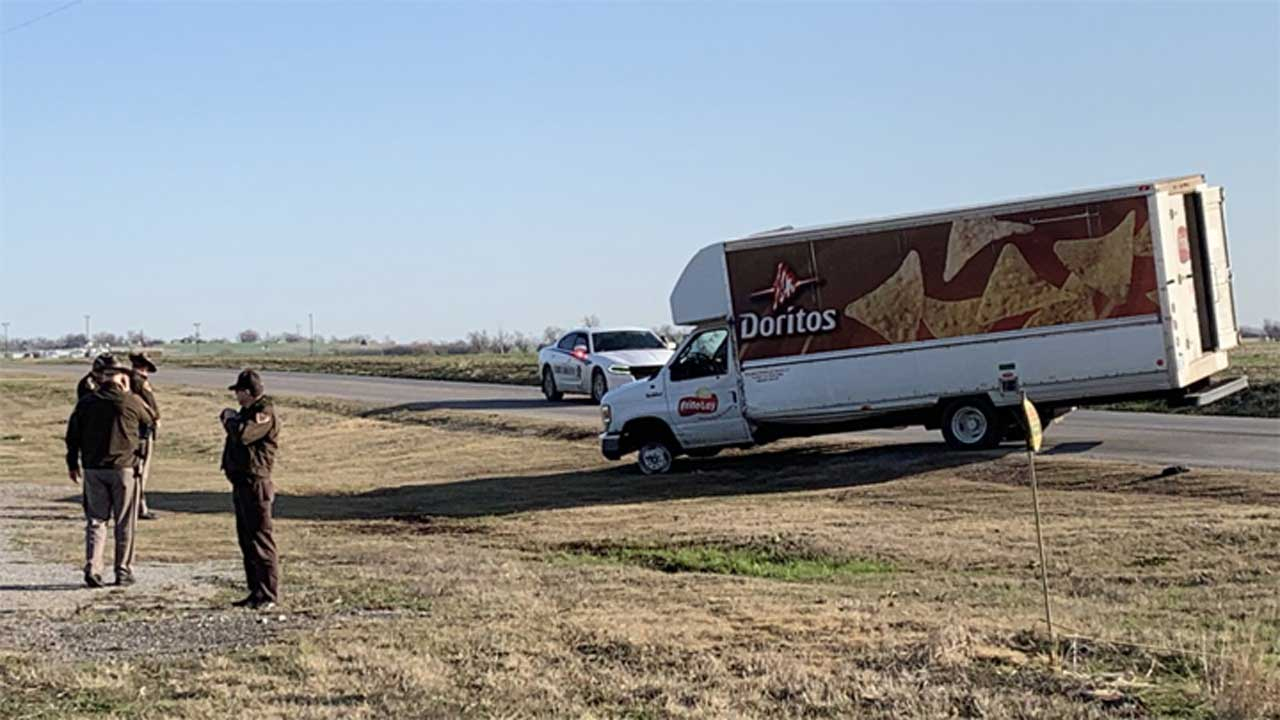 Suspect Arrested After OKC Police Pursuit With Stolen Frito-Lay Truck