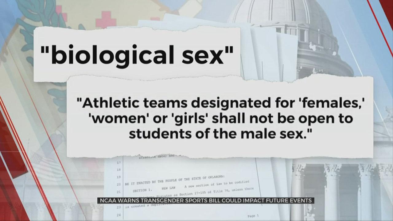NCAA Warns Okla. Transgender Sports Bill Could Impact Future Events