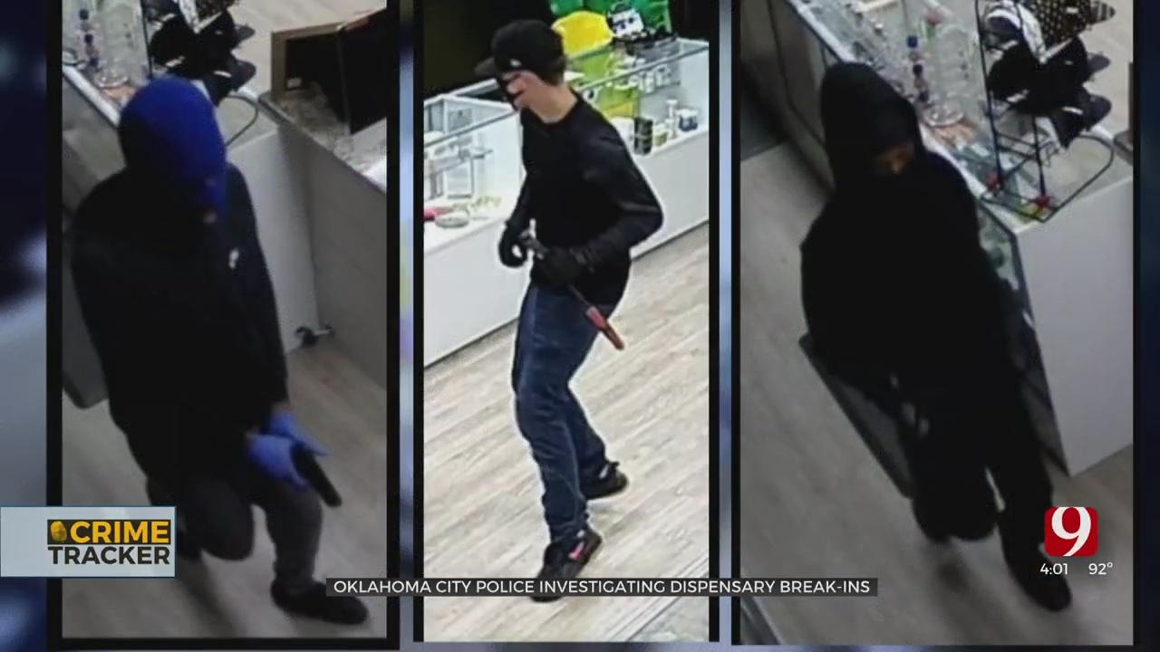 Smash And Grab Suspects Caught On Camera Burglarizing Metro Marijuana Dispensary