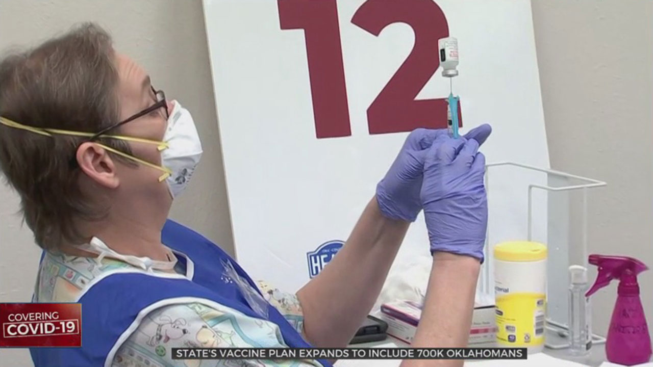 Oklahoma City-County Health Department Works To Vaccinate Teachers, School Staff