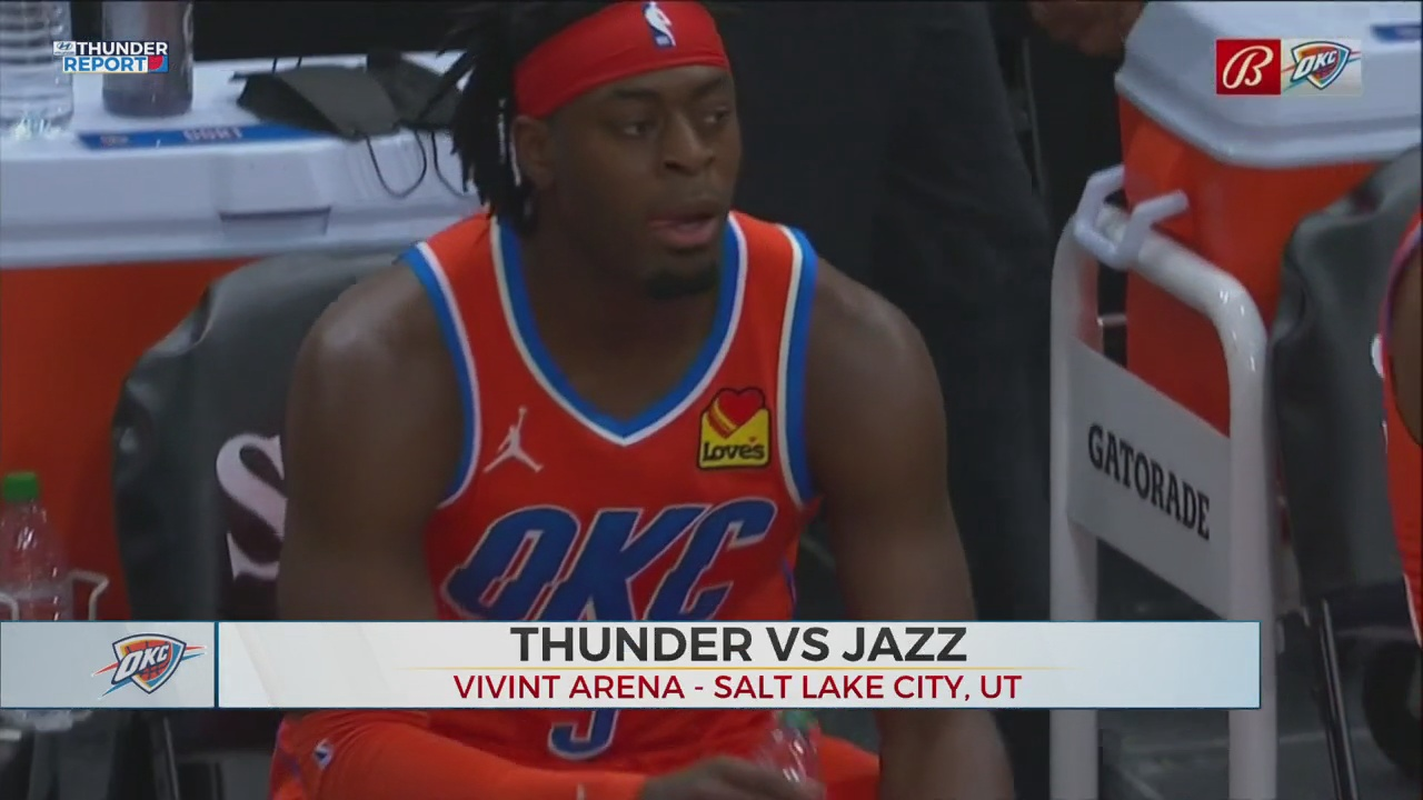 Thunder Can't Sustain Hot Start In Road Loss To Jazz