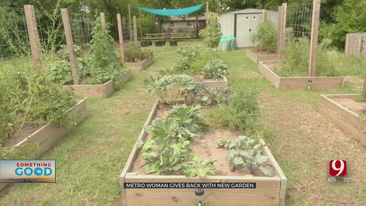 Something Good: Woman Starts A Community Garden In Northeast Oklahoma City