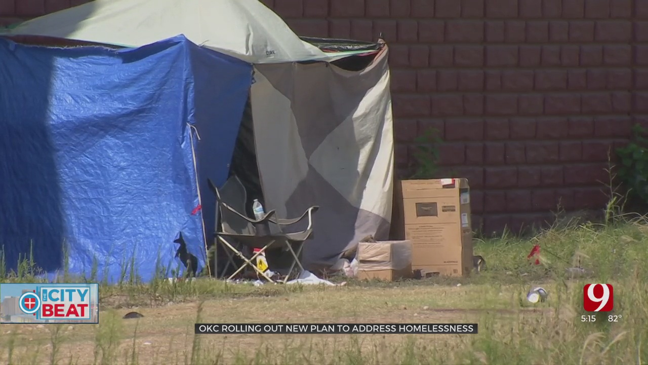 OKC Rolling Out New Plan To Address Homelessness