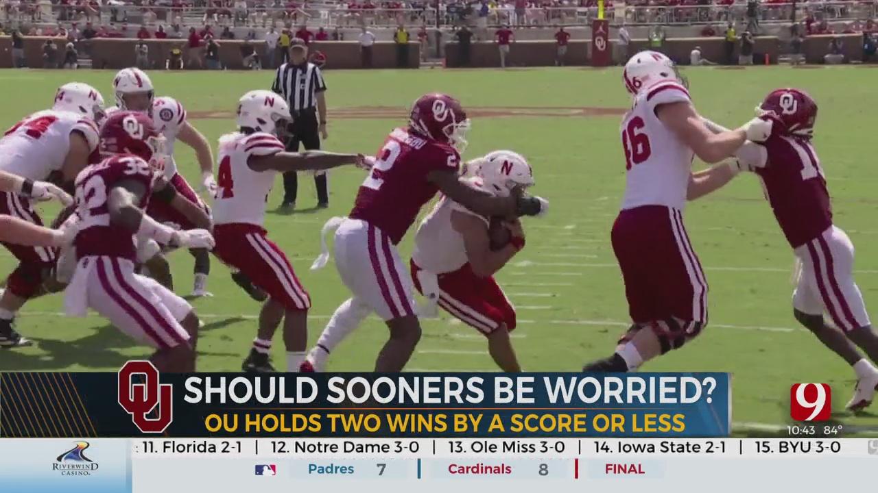 Should The Sooners Be Worried Despite 3-0 Start?