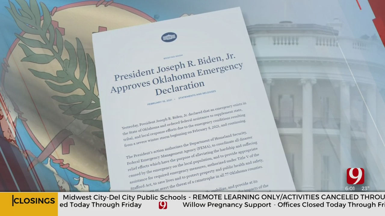 FEMA Winter Storm Assistance Heading To Municipalities, Not Individuals