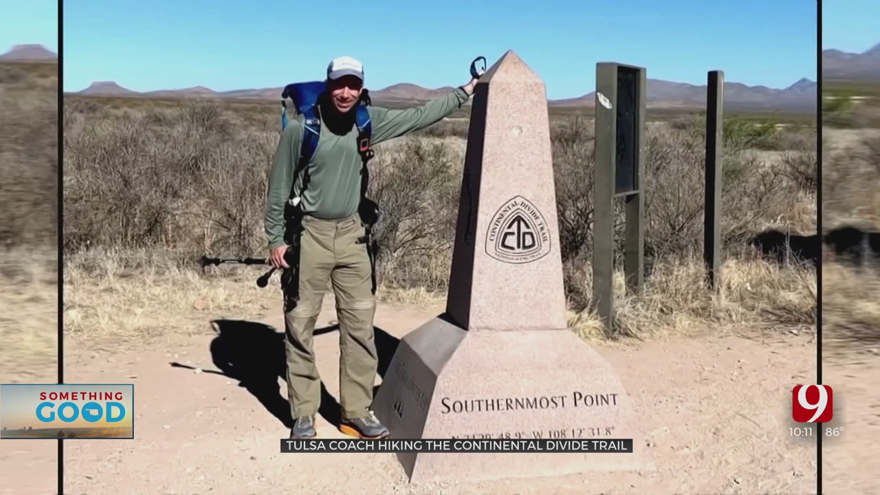 Holland Hall Head Cross Country Coach Hikes 3,100 Miles Along The Continental Divide Trail