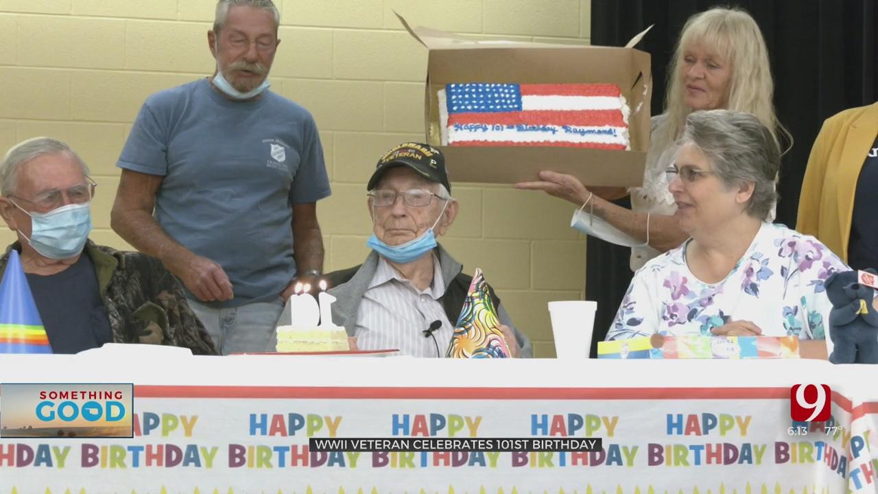 World War II Veteran From Oklahoma Celebrates 101st Birthday
