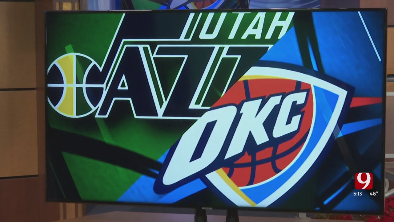 Thunder Takes On The Jazz In Their First Home Game Of Season