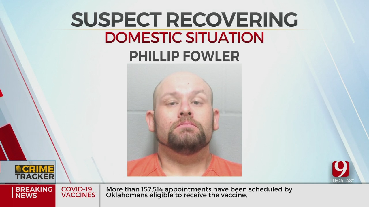 Ponca City Man Shot In Domestic Incident After Allegedly Stabbing, Beating Wife's Son With Bat