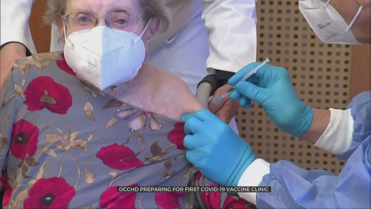 OCCHD Prepares For First COVID-19 Vaccine Clinic
