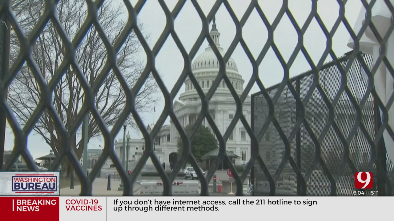 Oklahoma's Delegation Says Capitol Security Measures Are 'Over The Top' Since Insurrectio